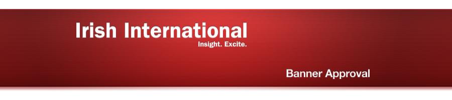 Irish International. Insight. Excite.